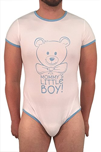Littletude Adult Baby & Diaper Lover (ABDL) Snap Crotch Romper Onesie Pajamas – Mommy's Little Boy